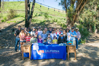 CRC employees pictured with members of the community at the Rancho Ventura Conservation