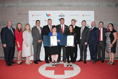 American Red Cross LA Region presents CRC as the 2017 Humanitarian Company of the Year
