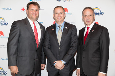American Red Cross and CRC leaders pictured together