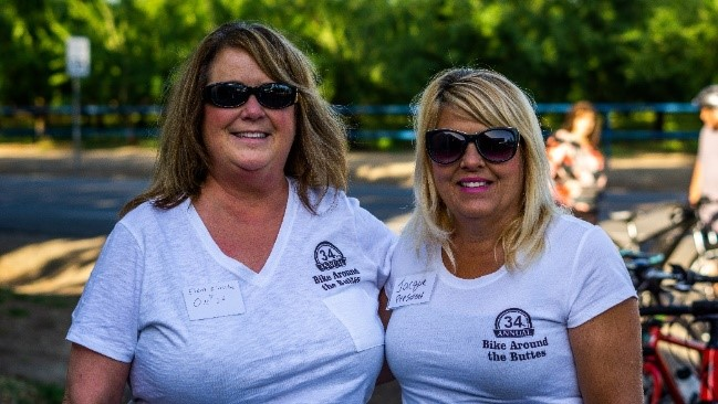 Photo of two women at Yuba Sutter Diabetes Support & Resource Center event